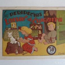 Tebeos: LAS PERIPECIAS DELUISÍN Y CHIQUITA Nº 2 AMELLER. DE E. BOMBÓN. Lote 267757664