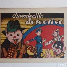 Tebeos: PUBLICACIONES INFANTILES Nº 30 DUENDECILLO DETECTIVE. AMELLER 1944. Lote 267757989