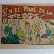 Tebeos: PARVULIN Nº 11 EN EL PAÍS DE LAS FLORES, AMELLER AÑOS 40. Lote 267759309