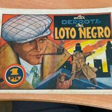 Tebeos: HISTORIAS GRAFICAS Nº 78 LA DERROTA DEL LOTO NEGRO (ORIGINAL AMELLER) (COIB204). Lote 274623878