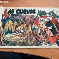 Tebeos: EL CABALLERO ENMASCARADO Nº 13 LAS CUEVAS DE MOR-CILLA (ORIGINAL HISPANO AMERICANA) (AB-3). Lote 274803153