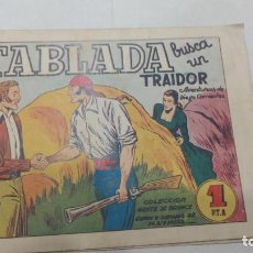 Tebeos: DIEGO CORRIENTES -TABLADA EN BUSCA DEL TRAIDOR Nº 11. AMELLER 1950. MUY DIFICIL... Lote 277758068