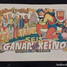 BDs: COLECCIÓN PRINCESITA / 37 / SEIS GANAN UN REINO / BUEN ESTADO GENERAL. Lote 281925543