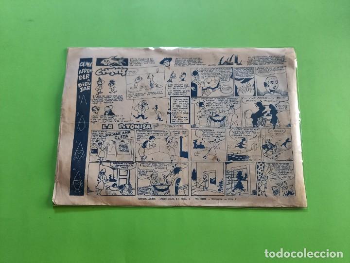 Tebeos: El halcón de acero, nº 2 El triunfo del Principe Dango - Editorial Ameller 1944 - 22x32 cms - Foto 2 - 283628483