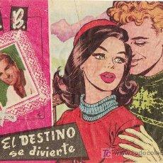 BDs: BB, EDICIONES BERNABEU, EL DESTINO SE DIVIERTE, AÑO 1964. Lote 3565193