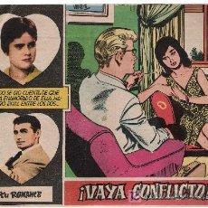 BDs: TU ROMANCE. DIST.BERNABEU. ¡VAYA CONFLICTO!. Lote 9616113