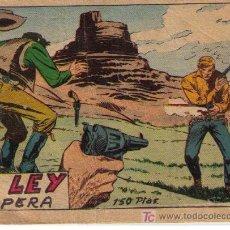 Tebeos: LA LEY IMPERA.¿BERNABEU?. Lote 18250157