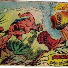 Tebeos: FRED SANTOS.BERNABEU 1964. RATAS SUBMARINAS. ¡IMPECABLE!. Lote 27640976