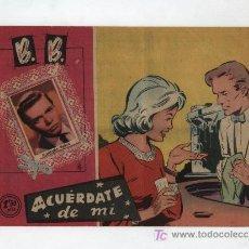 Tebeos: B.B. ACUERDATE DE MI. Lote 13115664