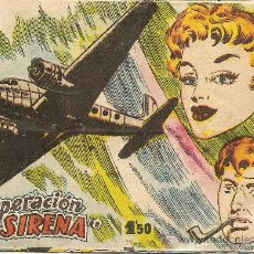 Tebeos: OPERACION SIRENA ESCLUSIBAS BERNABEU ORIGINAL. Lote 19390323