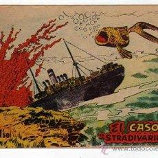 Tebeos: (M-0) EL CASO STRADIVARIUS NUM. ? - DISTRIBUIDORA BERNABEU, ALICANTE, SEÑALES DE . Lote 23083278