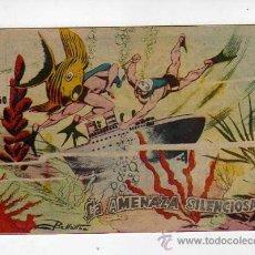 Tebeos: (M-0) LA AMENAZA SILENCIOSA NUM. ? - DISTRIBUIDORA BERNABEU, ALICANTE, SEÑALES DE . Lote 25737717
