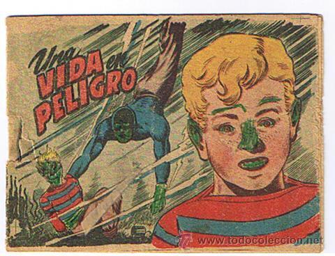LA SOMBRA Nº 25. UNA VIDA EN PELIGRO. (Tebeos y Comics - Bernabeu)