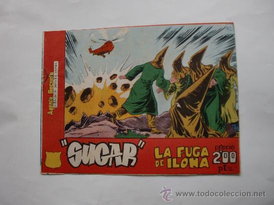SUGAR AGENTE SECRETO Nº 42 ORIGINAL (Tebeos y Comics - Bernabeu)