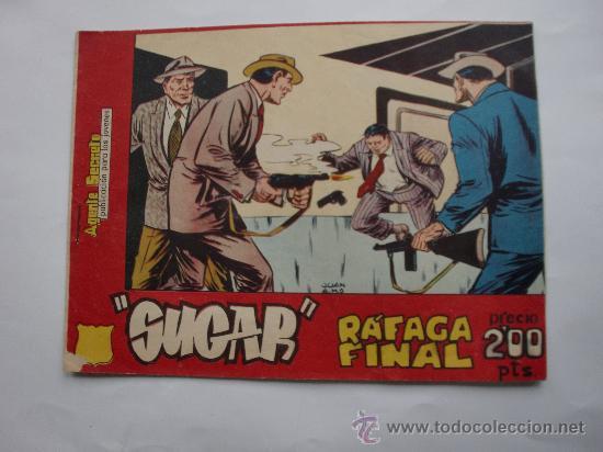 SUGAR AGENTE SECRETO Nº 15 ORIGINAL (Tebeos y Comics - Bernabeu)