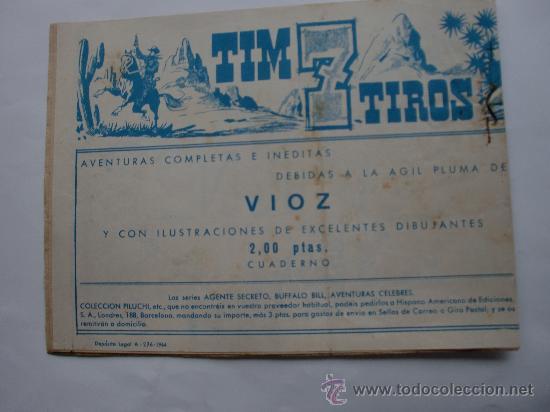 Tebeos: SUGAR AGENTE SECRETO Nº 42 ORIGINAL - Foto 2 - 30027616