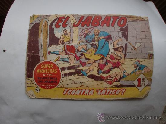 JABATO Nº 224 ORIGINAL (Tebeos y Comics - Bernabeu)