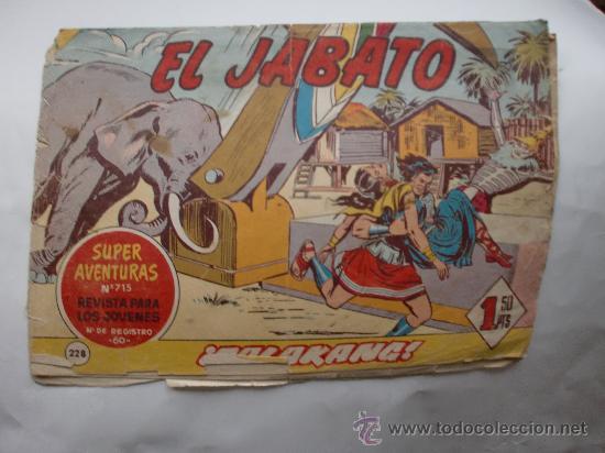JABATO Nº 228 ORIGINAL (Tebeos y Comics - Bernabeu)