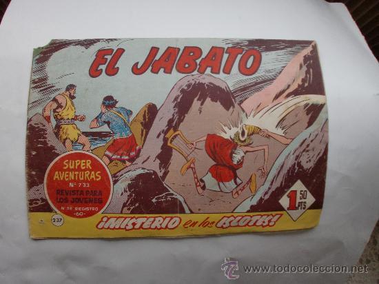 JABATO Nº 237 ORIGINAL (Tebeos y Comics - Bernabeu)