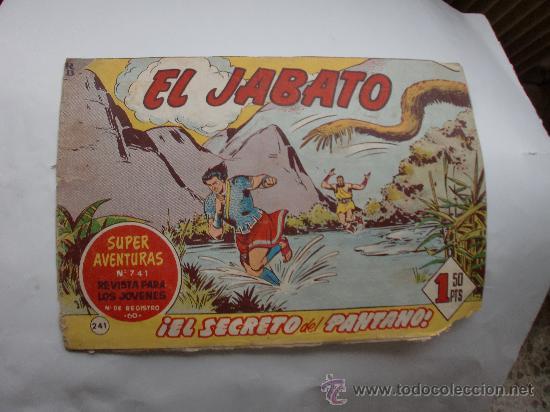 JABATO Nº 241 ORIGINAL (Tebeos y Comics - Bernabeu)