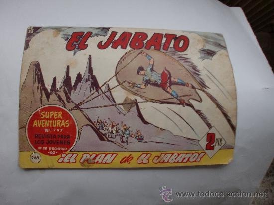 JABATO Nº 269 ORIGINAL (Tebeos y Comics - Bernabeu)