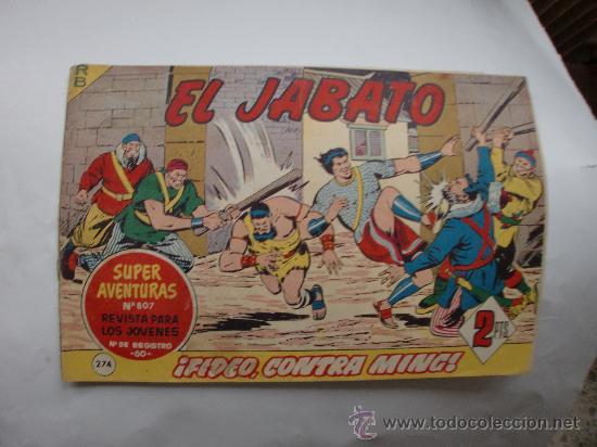 JABATO Nº 274 ORIGINAL (Tebeos y Comics - Bernabeu)