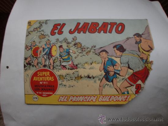 JABATO Nº 278 ORIGINAL (Tebeos y Comics - Bernabeu)