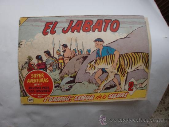 JABATO Nº 279 ORIGINAL (Tebeos y Comics - Bernabeu)