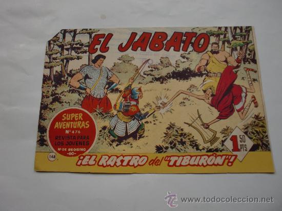 JABATO Nº 148 ORIGINAL LOT E (Tebeos y Comics - Bernabeu)