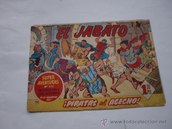 JABATO Nº 98 ORIGINAL LOT E (Tebeos y Comics - Bernabeu)