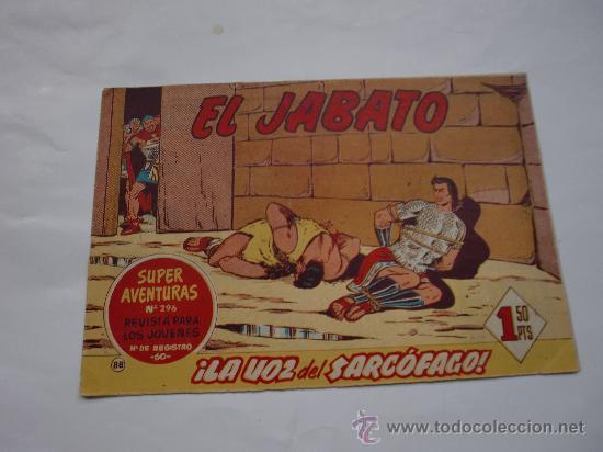 JABATO Nº 88 ORIGINAL LOT E (Tebeos y Comics - Bernabeu)