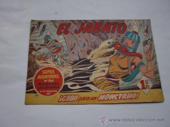 JABATO Nº 70 ORIGINAL LOT E (Tebeos y Comics - Bernabeu)