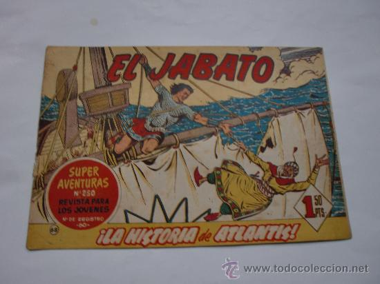 JABATO Nº 68 ORIGINAL LOT E (Tebeos y Comics - Bernabeu)