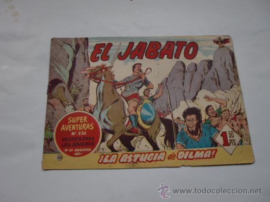 JABATO Nº 60 ORIGINAL LOT E (Tebeos y Comics - Bernabeu)