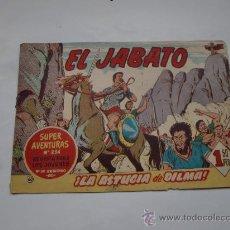 Tebeos: JABATO Nº 60 ORIGINAL LOT E . Lote 30040482