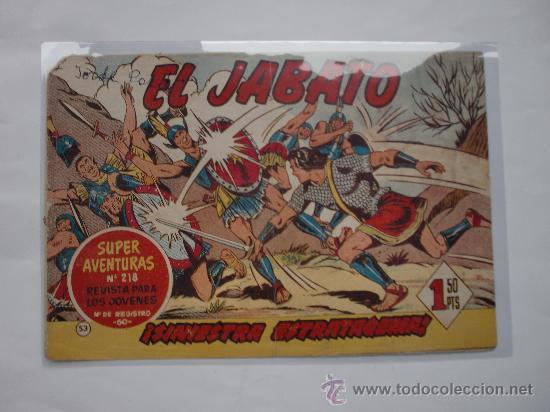 JABATO Nº 53 ORIGINAL LOT E (Tebeos y Comics - Bernabeu)