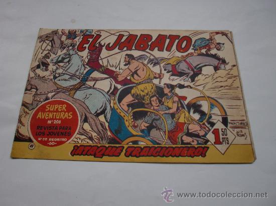 JABATO Nº 49 ORIGINAL LOT E (Tebeos y Comics - Bernabeu)