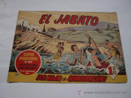 JABATO Nº 44 ORIGINAL LOT E (Tebeos y Comics - Bernabeu)