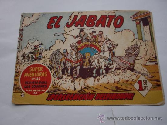 JABATO Nº 43 ORIGINAL LOT E (Tebeos y Comics - Bernabeu)