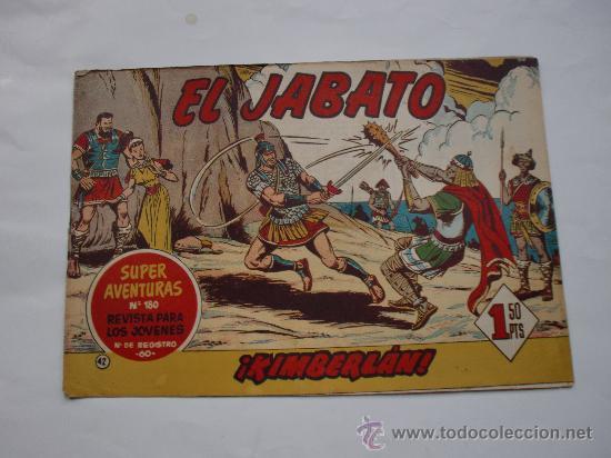 JABATO Nº 42 ORIGINAL LOT E (Tebeos y Comics - Bernabeu)