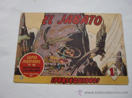 JABATO Nº 28 ORIGINAL LOT E (Tebeos y Comics - Bernabeu)