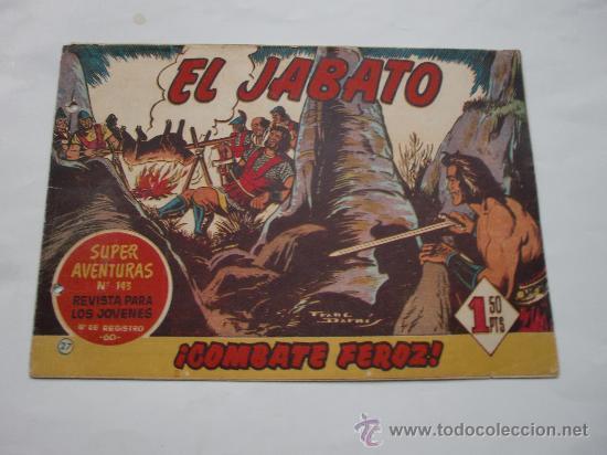 JABATO Nº 27 ORIGINAL LOT E (Tebeos y Comics - Bernabeu)