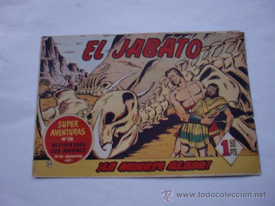 JABATO Nº 25 ORIGINAL LOT E (Tebeos y Comics - Bernabeu)
