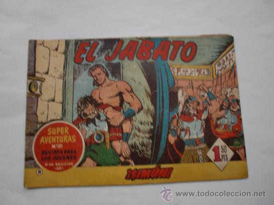 JABATO Nº 18 ORIGINAL LOT E (Tebeos y Comics - Bernabeu)