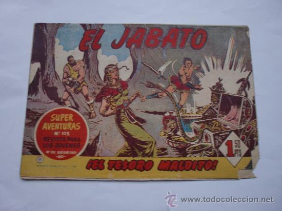 JABATO Nº 11 ORIGINAL LOT E (Tebeos y Comics - Bernabeu)