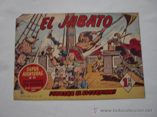 JABATO Nº 8 ORIGINAL LOT E (Tebeos y Comics - Bernabeu)