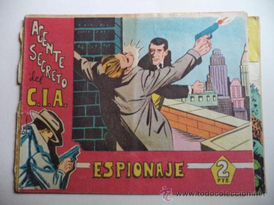 AGENTE SECRETO DEL C.I.A. ESPIONAJE (Tebeos y Comics - Bernabeu)