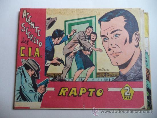 AGENTE SECRETO DEL C.I.A RAPTO (Tebeos y Comics - Bernabeu)