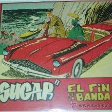 Tebeos: SUGAR Nº EL FIN DE LA BANDA -Nº 10 - BERNABEU 1964 - 15X21 - ORIGINAL. Lote 38991589