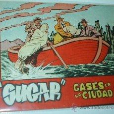Tebeos: SUGAR Nº GASES EN LA CIUDAD - BERNABEU 1964 Nº 31- 15X21 - ORIGINAL. Lote 38991645